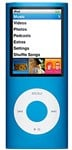 Apple iPod Nano 8GB 4th Gen Blue, B