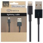 CeX basics Apple Certified Lightning cable Black - 1m
